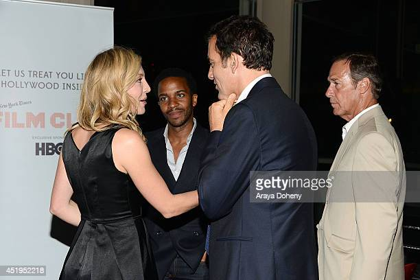 Juliet Rylance Andr Holland Clive Owen and Grainger Hines attend the Film Independent screening and QA of 'The Knick' at Bing Theatre At LACMA on...