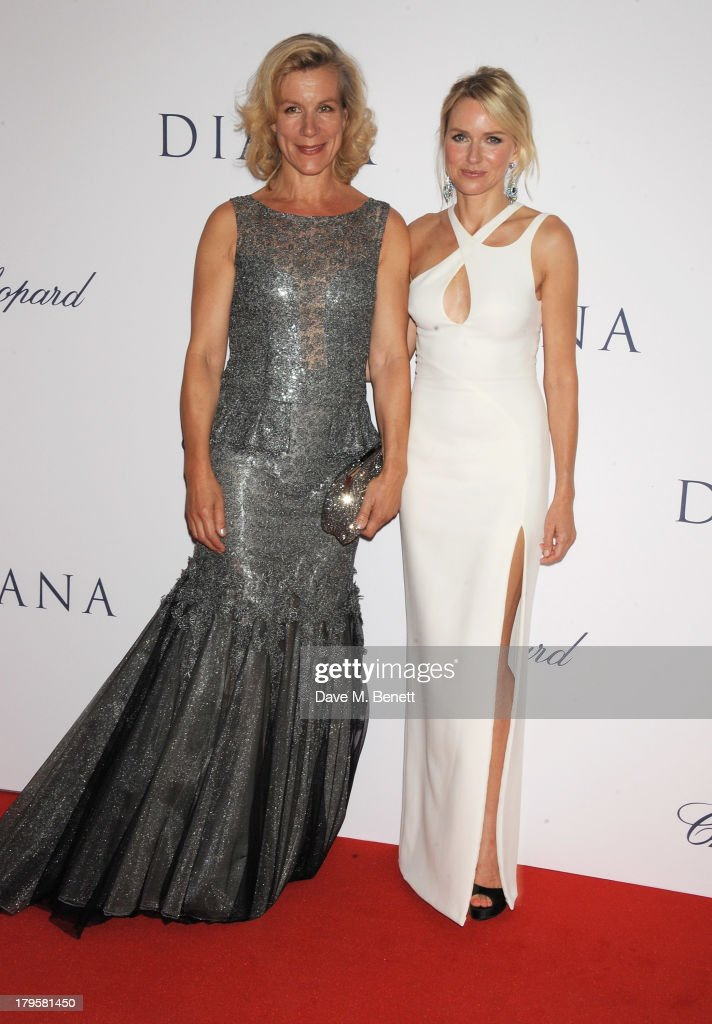 Juliet Stevenson (L) and Naomi Watts attend the World Premiere of 'Diana' at Odeon Leicester Square on September 5, 2013 in London, England.