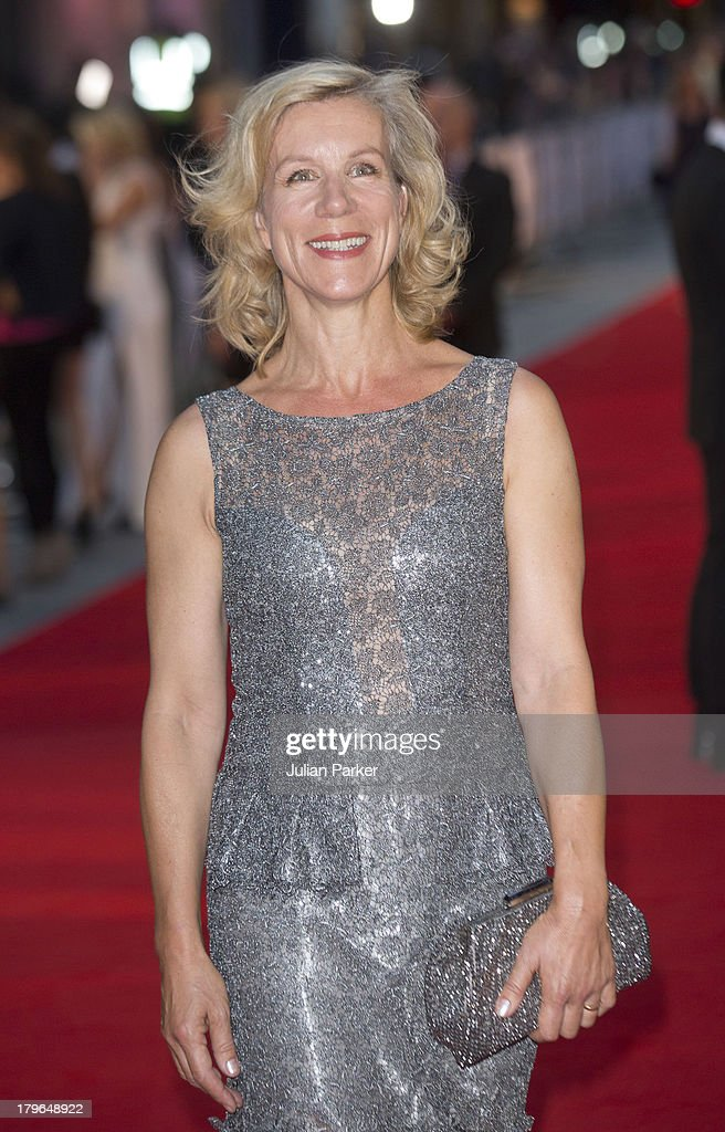 Juliet Stevenson attends the World Premiere of 'Diana' at Odeon Leicester Square on September 5, 2013 in London, England.