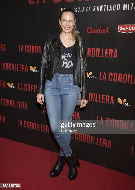 Julieta Cardinali attends the premiere of 'La Cordillera' at the Hoyts Shopping Dot cinema on August 15 2017 in Buenos Aires Argentina