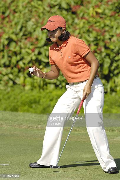 Julieta Granada during the third round of the ADT Championship at the Trump International Golf Club in West Palm Beach Florida on Saturday November...