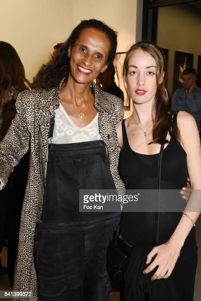 Juliette Besson and Karine Silla attend 'Bolchoi' Vincent Perez Photo Exhibition Preview at Royal Monceau on August 31 2017 in Paris France