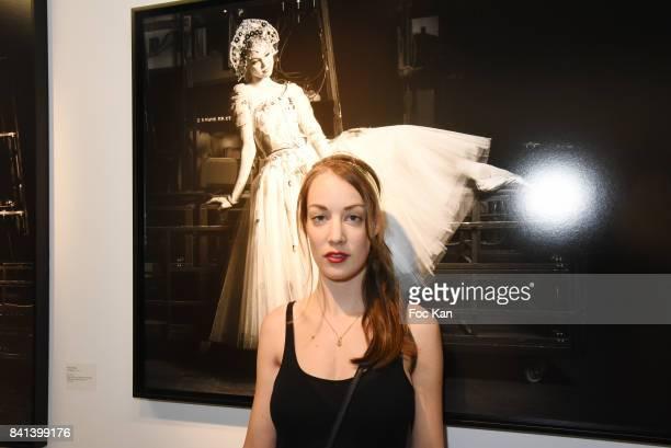 Juliette Besson attends 'Bolchoi' Vincent Perez Photo Exhibition Preview at Royal Monceau on August 31 2017 in Paris France