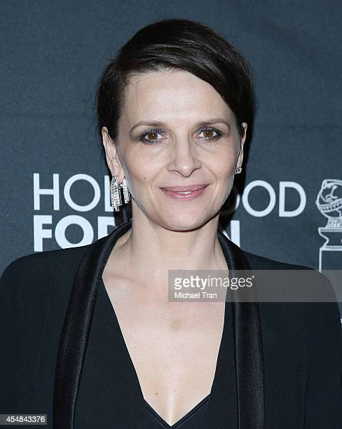 Juliette Binoche arrives at the HFPA InStyle's 2014 TIFF Celebration held during the 2014 Toronto International Film Festival on September 6 2014 in...