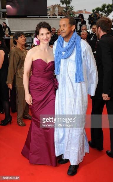 Juliette Binoche arriving at the 'Bright Star' premiere at the Palais de Festival during the 62nd Cannes Film Festival France