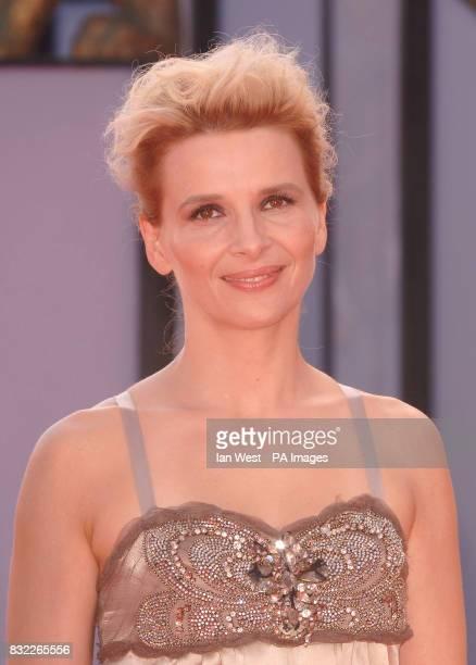 Juliette Binoche at the premiere for new film 'Quelques Jours en Septembre' She was seen at the Palazzo del Casino during the Venice Film festival...