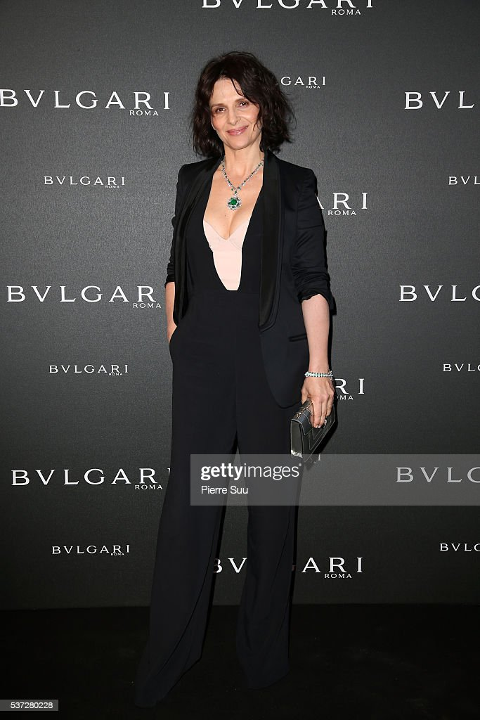 <a gi-track='captionPersonalityLinkClicked' href=/galleries/search?phrase=Juliette+Binoche&family=editorial&specificpeople=209273 ng-click='$event.stopPropagation()'>Juliette Binoche</a> attends a BVLGARI press dinner during a four-day BVLGARI Brand Event on June 1, 2016 in Monaco, Monaco.