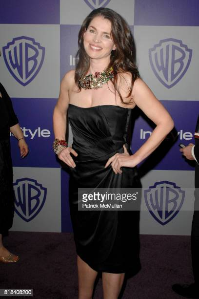 Juliette Binoche attends INSTYLE and WARNER BROS Golden Globes After Party at Oasis Courtyard on January 17 2010 in Beverly Hills California