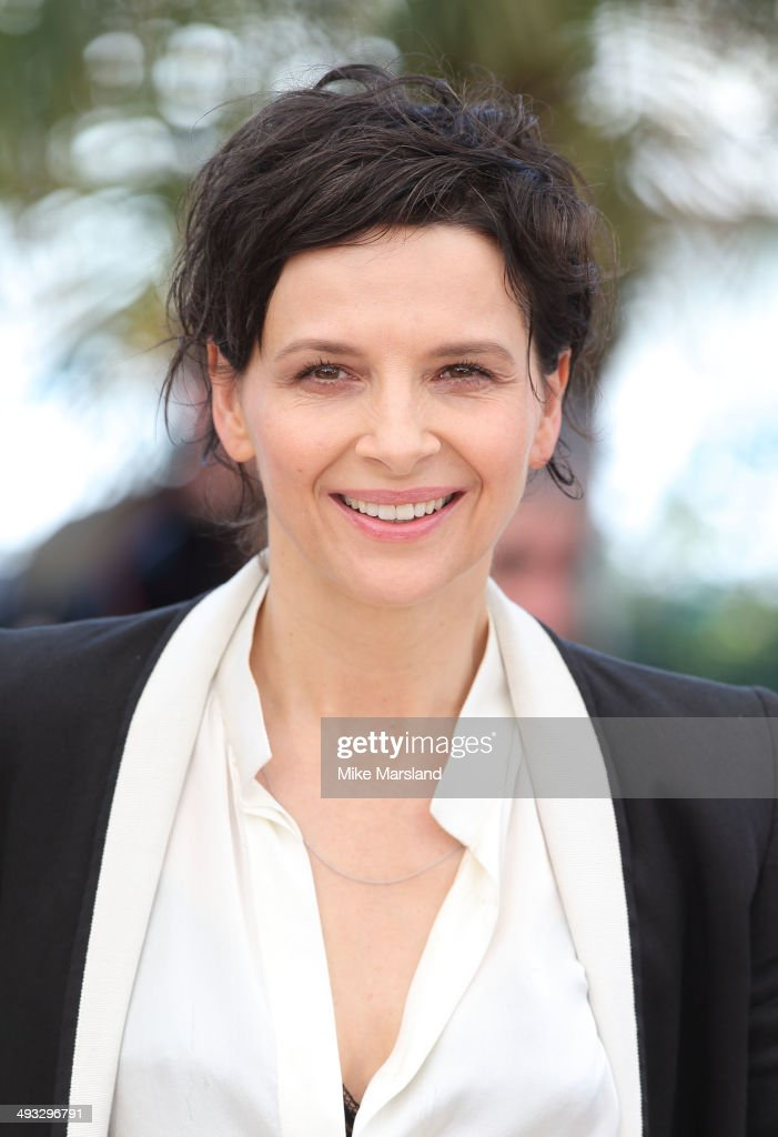 Juliette Binoche attends the 'Clouds Of Sils Maria' photocall at the 67th Annual Cannes Film Festival on May 23 2014 in Cannes France