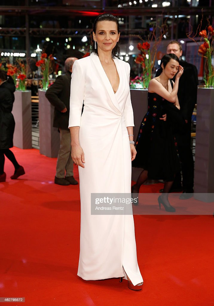 <a gi-track='captionPersonalityLinkClicked' href=/galleries/search?phrase=Juliette+Binoche&family=editorial&specificpeople=209273 ng-click='$event.stopPropagation()'>Juliette Binoche</a> attends the 'Nobody Wants the Night' (Nadie quiere la noche) Opening Night premiere during the 65th Berlinale International Film Festival at Berlinale Palace on February 5, 2015 in Berlin, Germany.