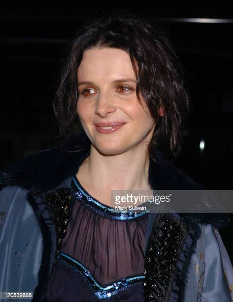 Juliette Binoche during 'In My Country' Los Angeles Screening Arrivals at Pacific Design Center's Silver Screen Theater in West Hollywood California...