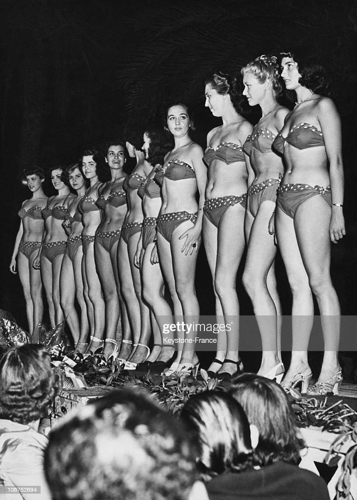 Resultado de imagen de miss francia 1949