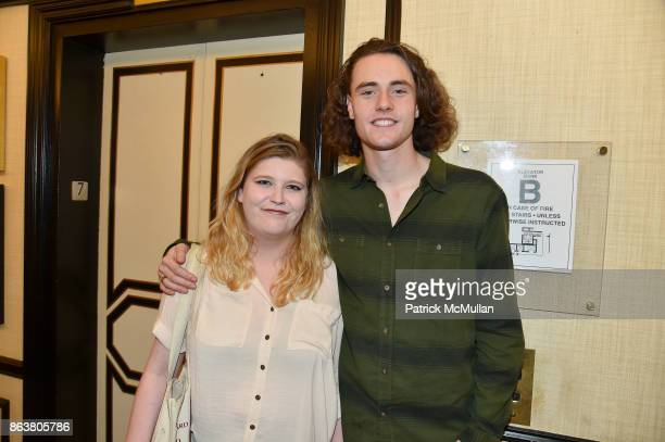Juliette Graham and Thomas Graham attend the launch of Second Bloom Cathy Graham's Art of the Table hosted by Joanna Coles and Clinton Smith at...