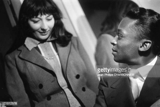 Juliette Greco And Miles Davis