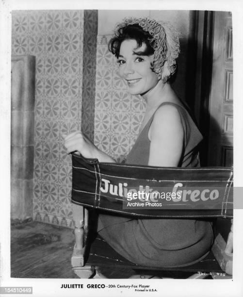 Juliette Greco circa 1960