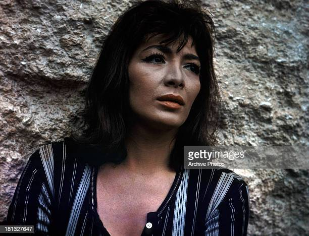 Juliette Greco in a scene from the film 'The Big Gamble' 1961