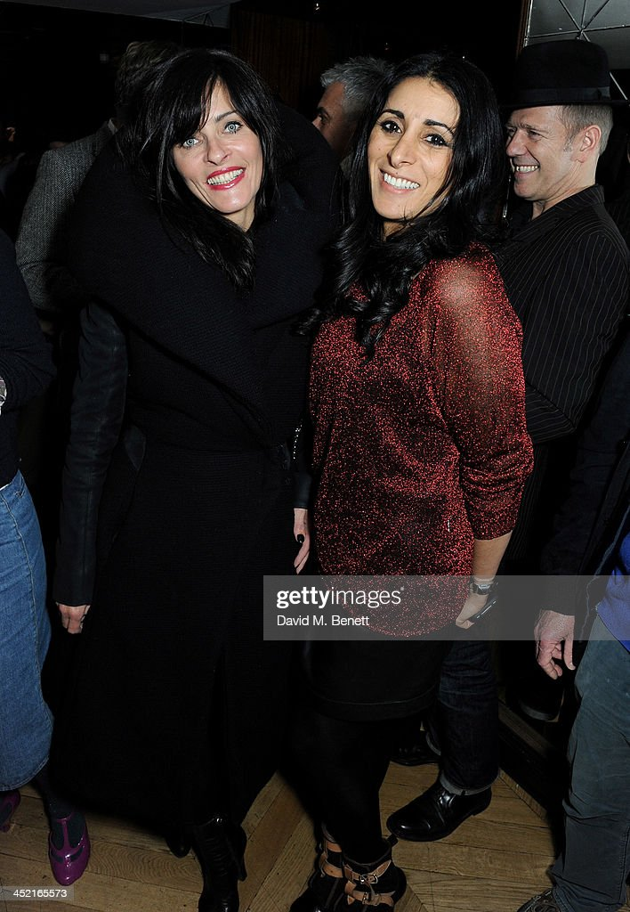 Juliette Larthe (L) and <a gi-track='captionPersonalityLinkClicked' href=/galleries/search?phrase=Serena+Rees&family=editorial&specificpeople=668227 ng-click='$event.stopPropagation()'>Serena Rees</a> attend the Project Zoltar 10th anniversary celebration and launch of Zoltar the Magnificent at The Groucho Club on November 26, 2013 in London, United Kingdom.