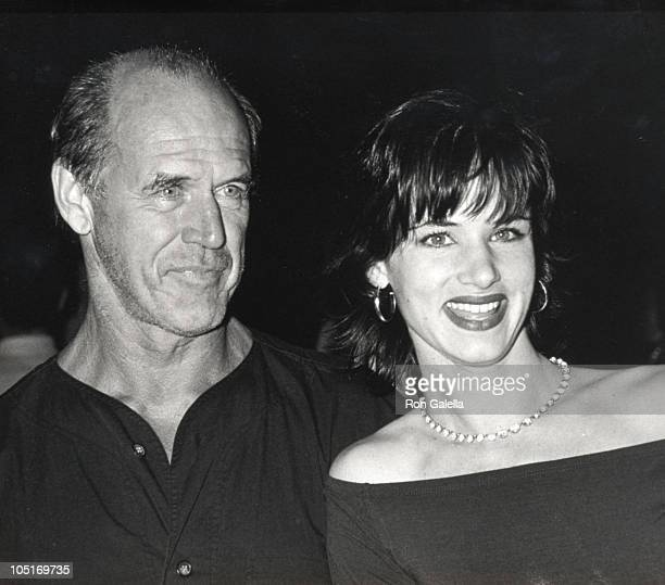 Juliette Lewis and Geoffrey Lewis during 'Kalifornia' Los Angeles Premiere at Director's Guild Theater in Hollywood California United States