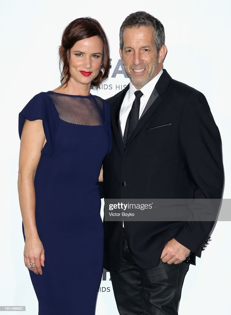 <a gi-track='captionPersonalityLinkClicked' href=/galleries/search?phrase=Juliette+Lewis&family=editorial&specificpeople=202873 ng-click='$event.stopPropagation()'>Juliette Lewis</a> and Kenneth Cole attend the amfAR Milano 2013 Gala as part of Milan Fashion Week Womenswear Spring/Summer 2014 at La Permanente on September 21, 2013 in Milan, Italy.