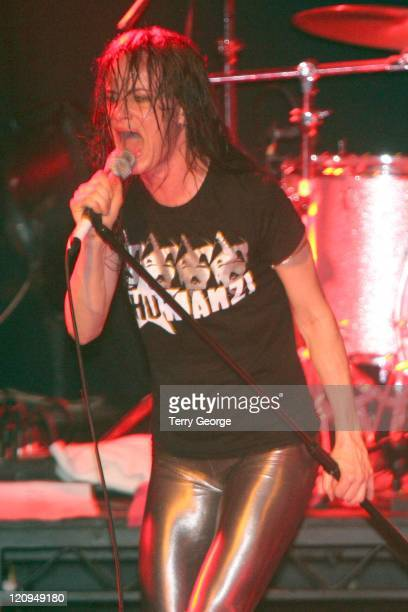Juliette Lewis and the Licks during Juliette Lewis and the Licks at Leeds Metropolitan University October 5 2006 at Leeds Metropolitan University in...