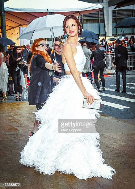 Juliette Lewis arrives at the 2015 CFDA Fashion Awards at Alice Tully Hall at Lincoln Center on June 1 2015 in New York City