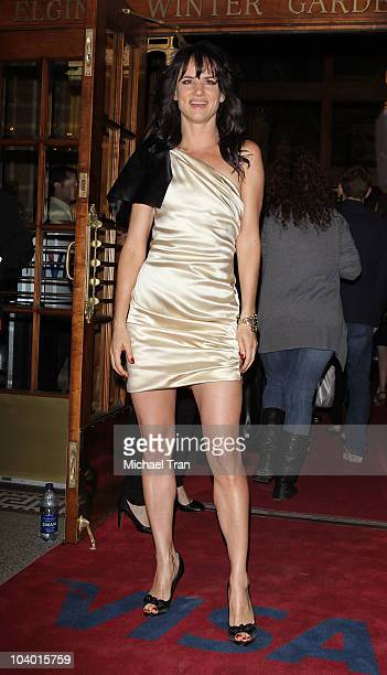 Juliette Lewis arrives at the 'Conviction' premiere held at The Elgin during 2010 Toronto International Film Festival on September 11 2010 in Toronto...