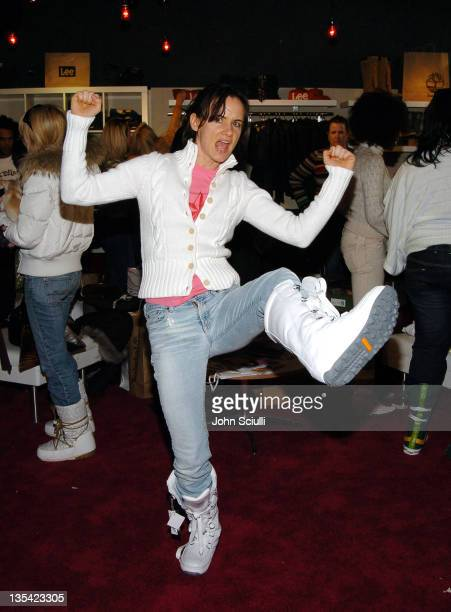 Juliette Lewis at Fred Segal during 2005 Park City Fred Segal Boutique at Village at the Lift at Village at the Lift in Park City Utah United States