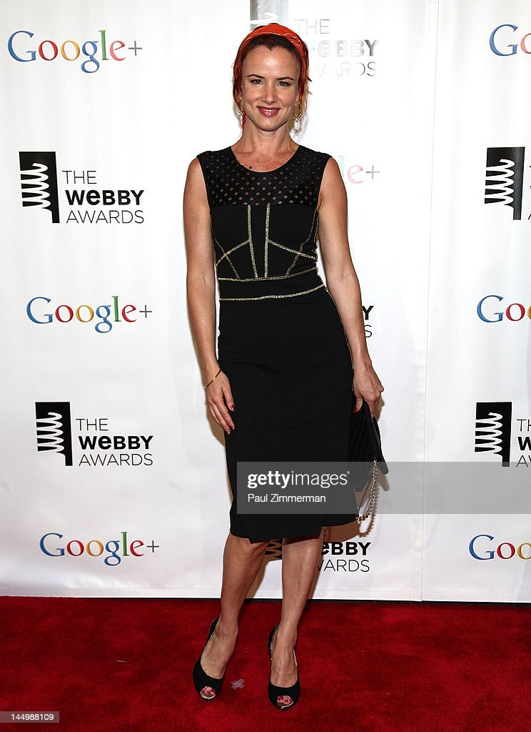 Juliette Lewis attends the 16th Annual Webby Awards at Hammerstein Ballroom on May 21, 2012 in New York City.