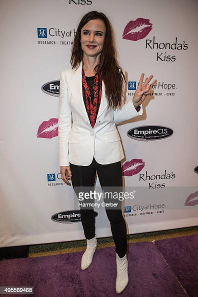 Juliette Lewis attends the Benefit Concert And Live Auction For Rhonda's Kiss at El Rey Theatre on November 3 2015 in Los Angeles California