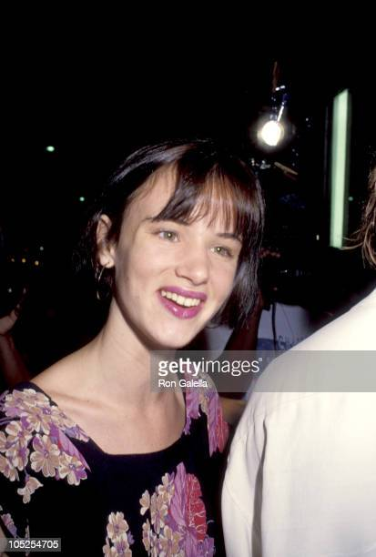 Juliette Lewis during Beverly Hills Premiere of 'Johnny Suede' at Laemille's Fine Arts Theater in Beverly Hills California United States