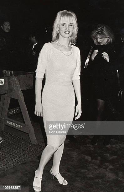 Juliette Lewis during 'Cape Fear' New York Premiere October 6 1991 at Ziegfeld Theater in New York City NY United States