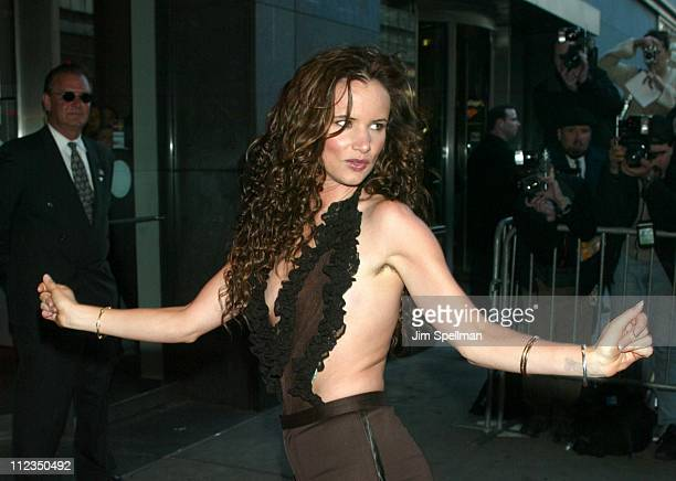 Juliette Lewis during 'Enough' New York City Premiere at Loews Theatres in New York City New York United States