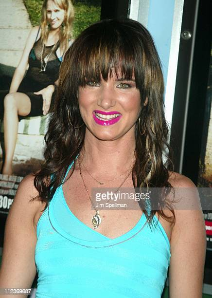 Juliette Lewis during 'Hysterical Blindness' Premiere New York at Chelsea Nine in New York City New York United States