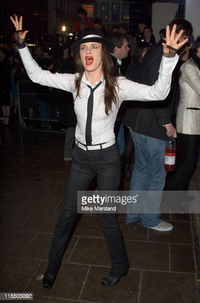 Juliette lewis during The Shockwaves NME Awards 2005 Arrivals at Hammersmith Palais in London Great Britain