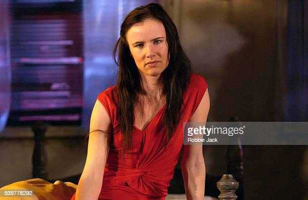 Juliette Lewis in the production Fool For Love at the Apollo Theater in London England