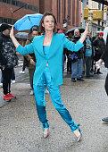 Celebrity Sightings In New York City - February 25, 2020