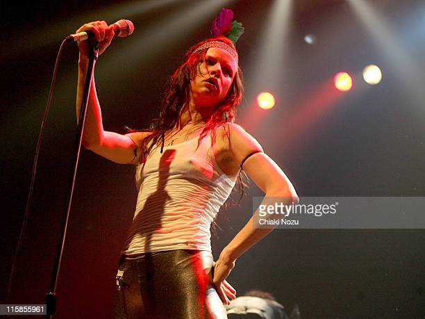 Juliette Lewis of Juliette and The Licks during Juliette and the Licks in Concert at The Astoria in London September 27 2006 at The Astoria in London...