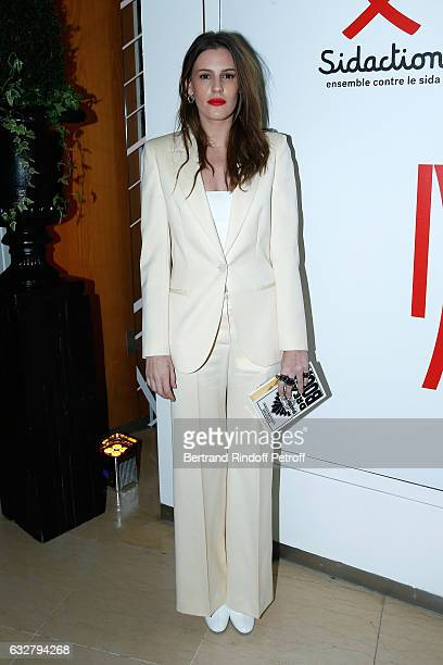 Juliette Maillot attends the Sidaction Gala Dinner 2017 Haute Couture Spring Summer 2017 show as part of Paris Fashion Week on January 26 2017 in...