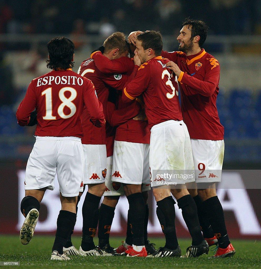 AS Roma v US Triestina Calcio - Tim Cup