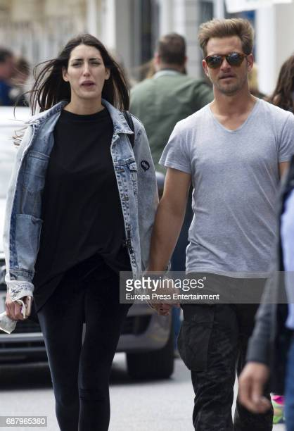 Julio Benitez and Isabel Jimenez are seen on April 9 2017 in Malaga Spain