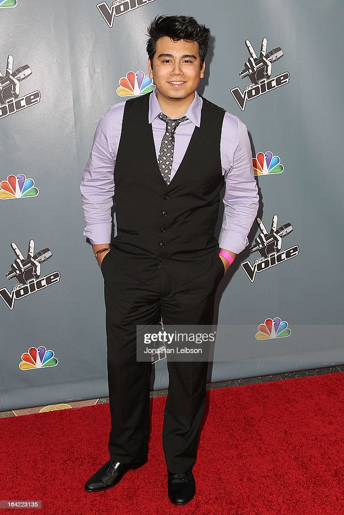 Julio Castillo attends the NBC's 'The Voice' Season 4 Premiere at TCL Chinese Theatre on March 20, 2013 in Hollywood, California.