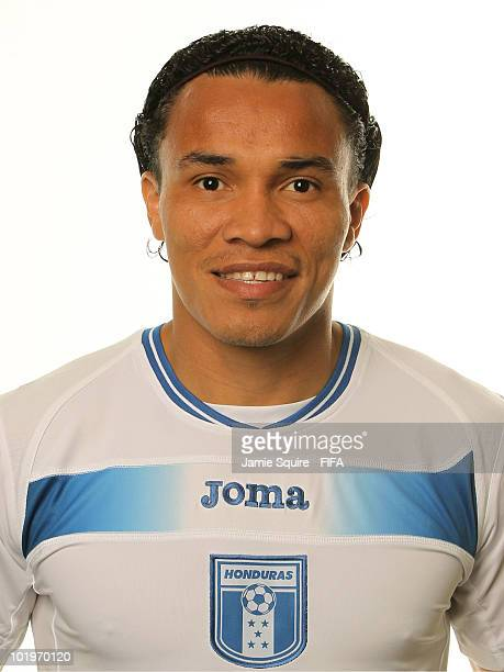 Julio Cesar De Leon of Honduras poses during the official FIFA World Cup 2010 portrait session on June 10 2010 in Johannesburg South Africa