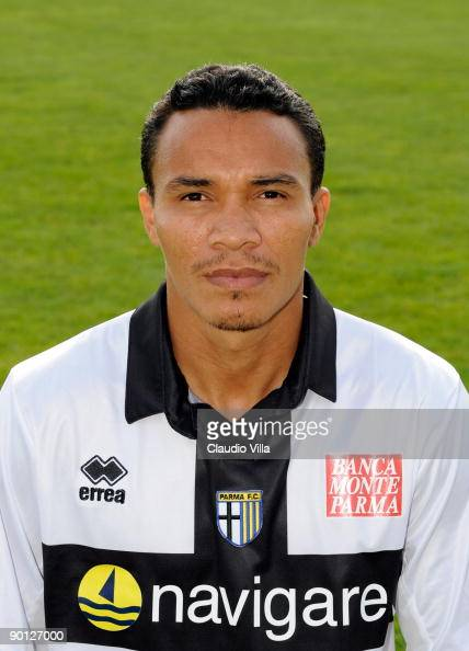 Julio Cesar Leon of Parma FC poses for a portrait August 26 2009 in Collecchio Italy