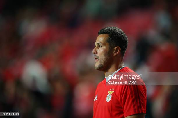 Julio Cesar of Benfica during the UEFA Champions League group A match between SL Benfica and Manchester United at Estadio da Luz on October 18 2017...