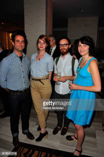 Julio Gomez Sanne Planting August Heffner and Melanie Malkin attend SAKS FIFTH AVENUE hosts a Cocktail Reception with MoMA to Benefit MoMA PS1 at...