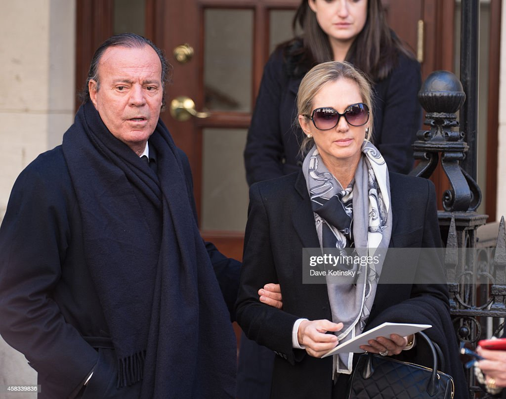 Oscar De La Renta S Funeral Getty Images