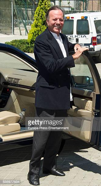 Julio Iglesias is seen on May 21 2016 in Marbella Spain