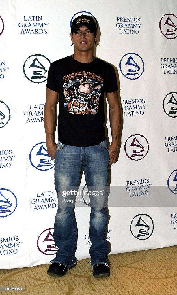 <a gi-track='captionPersonalityLinkClicked' href=/galleries/search?phrase=Julio+Iglesias&family=editorial&specificpeople=218023 ng-click='$event.stopPropagation()'>Julio Iglesias</a> Jr. during The 4th Latin GRAMMY Nominee Press Conference - Green Room at The Mandarin Oriental Hotel in Miami, Florida, United States.