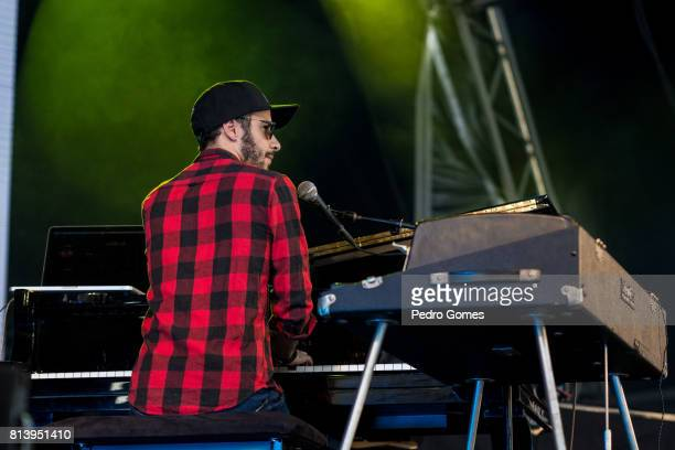 Julio Resende aka Augustus Search performs with the project Alexander Search on EDP stage at day 1 of Super Bock Super Rock festival on July 13 2017...
