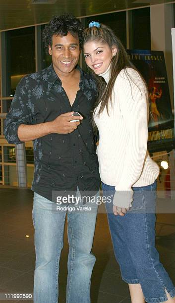 Julio Sabala and Ana Barbara during Screening of 'Assassination Tango' at Regal Cinemas South Beach in Miami Beach United States